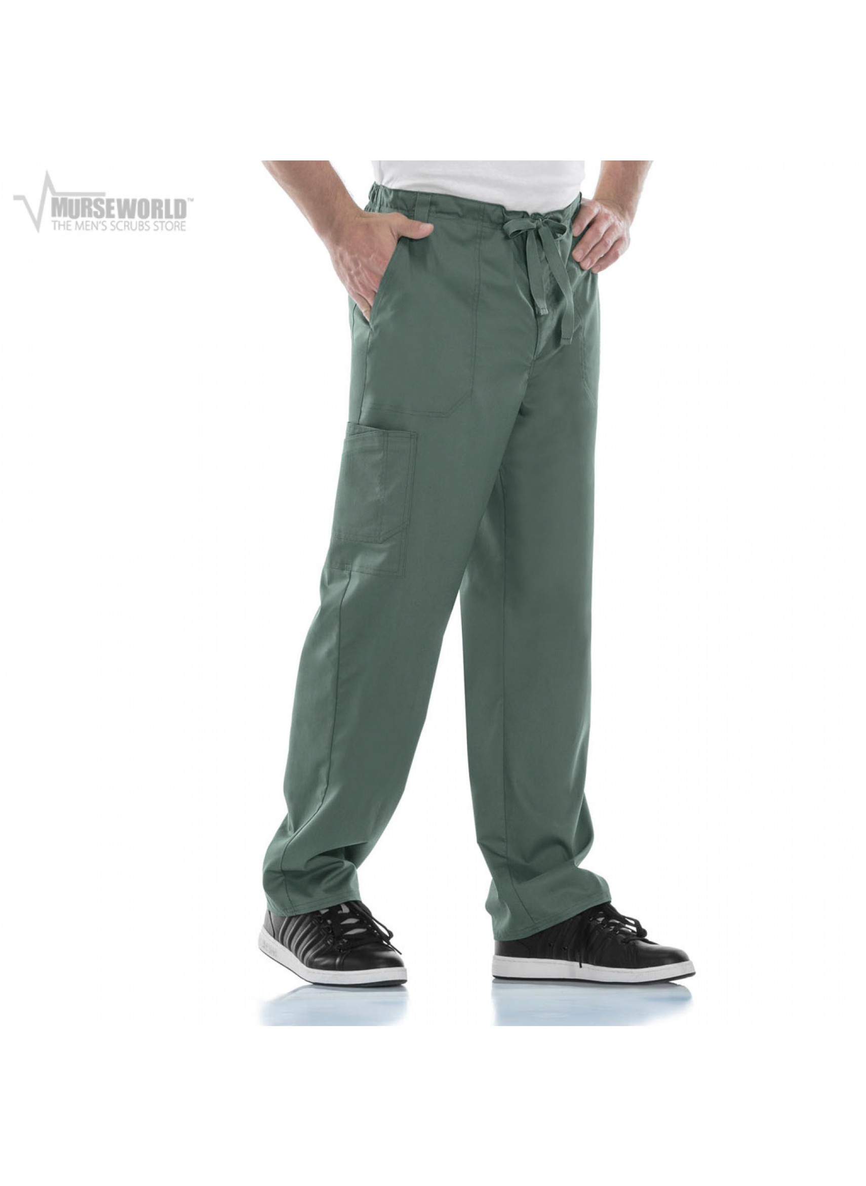 02441c2edfc 20% off all Dickies Scrubs! Use code DICKIES20 at checkout! Cherokee Luxe  Men's Fly Front Drawstring Cargo Pant - 1022