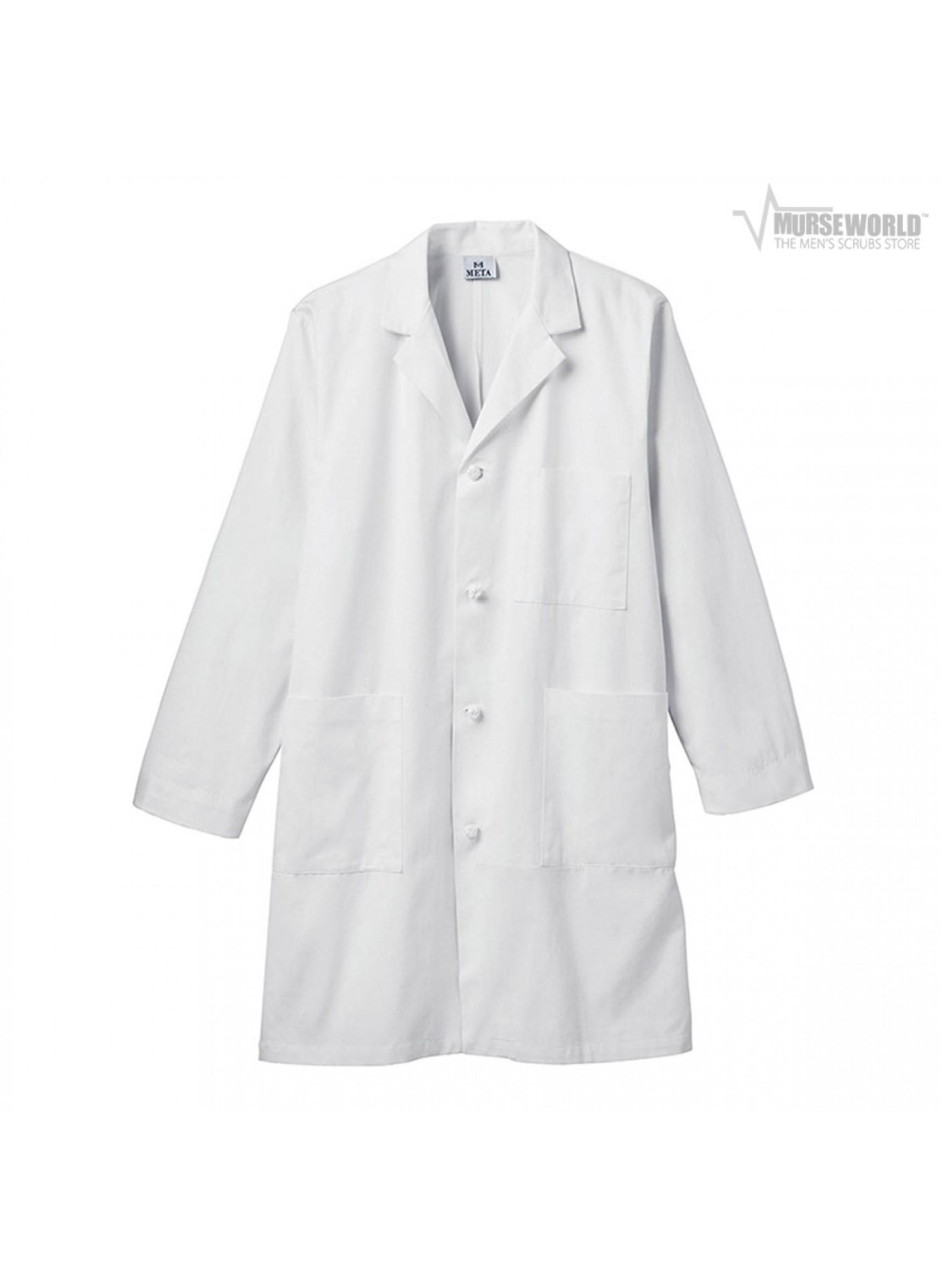 Meta black lab coat