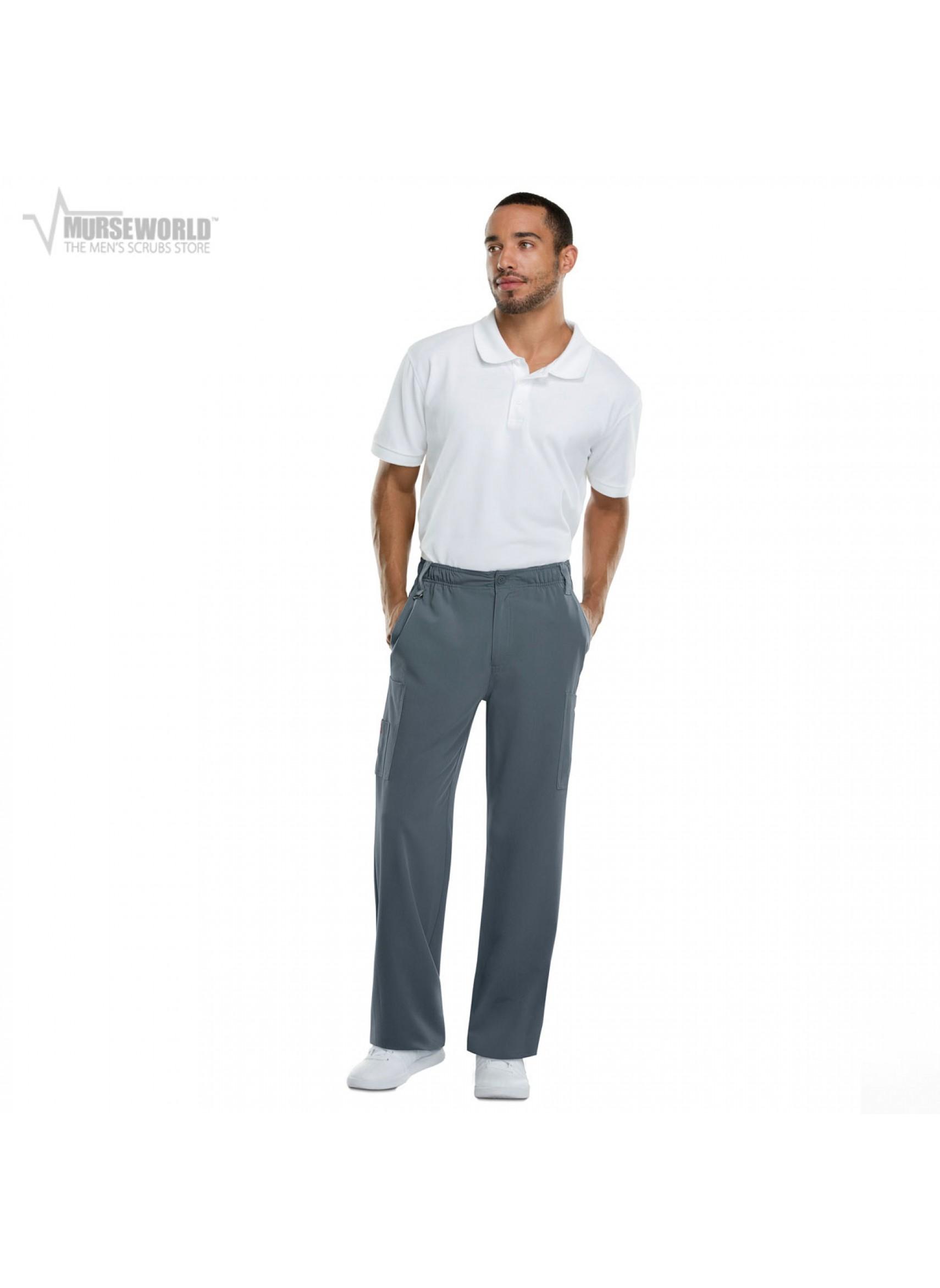 27c2f86fd1 Dickies Xtreme Stretch Men's Pull-on Scrub Pant - 81210 | Murse World