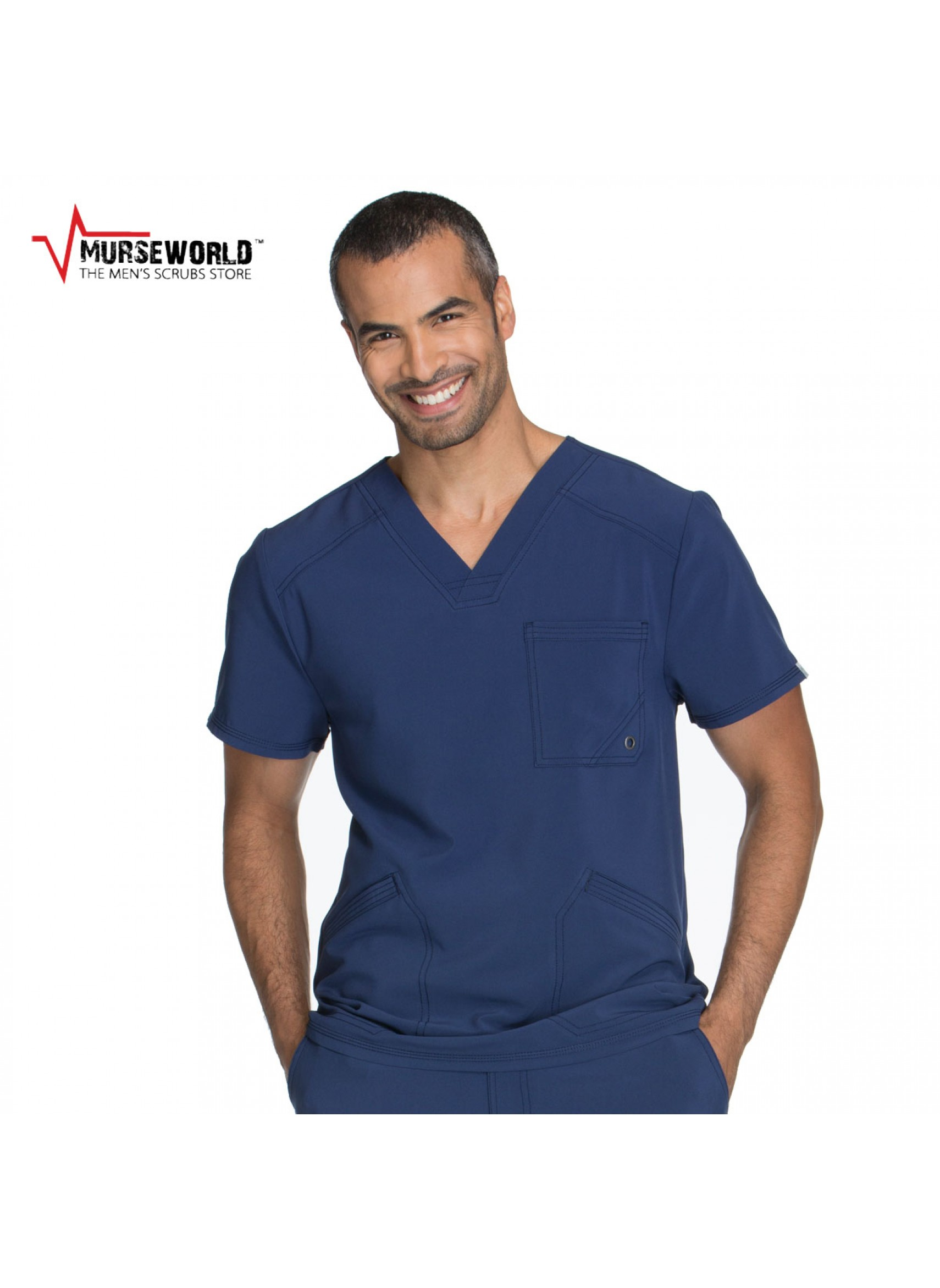 5b590f5bc3b 20% off all Dickies Scrubs! Use code DICKIES20 at checkout! Cherokee Men's  Infinity Antimicrobial Athletic ...