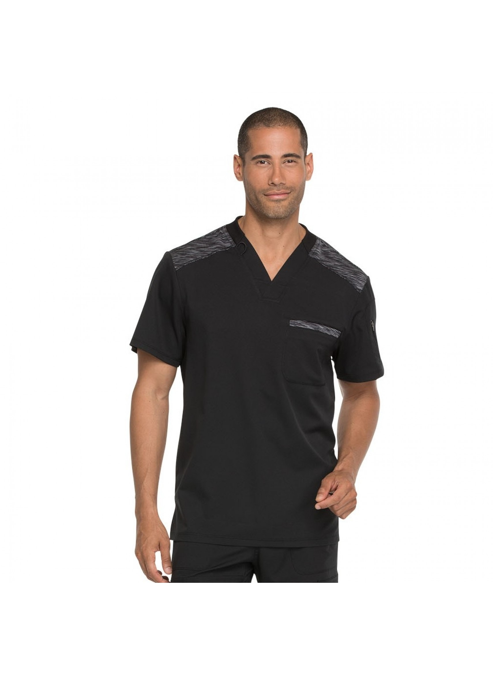 dd4ca55b62f 20% off all Dickies Scrubs! Use code DICKIES20 at checkout! Dickies Dynamix  Men's Contrast V-Neck Scrub Top ...