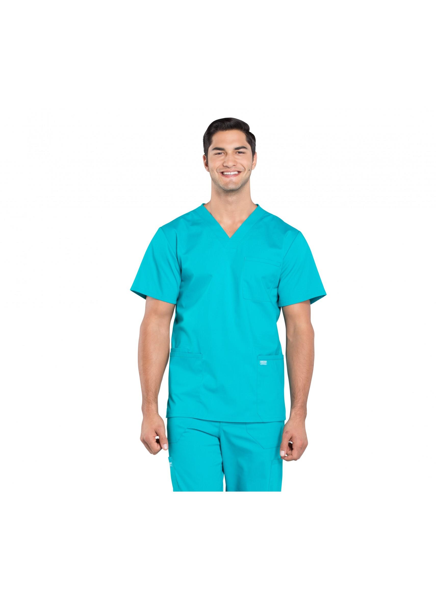 CHEROKEE Workwear Professionals Mens V-Neck Scrub Top