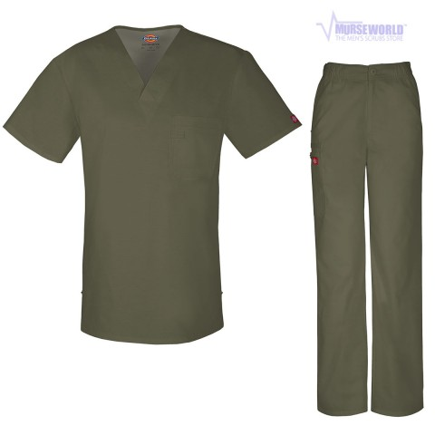 16e0b2194ee Dickies Evolution NXT Men's Scrub Set - 81800/81100 | Murse World