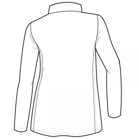 Med Couture Activate Men's Front Zip Fleece Warm Up Scrub ...