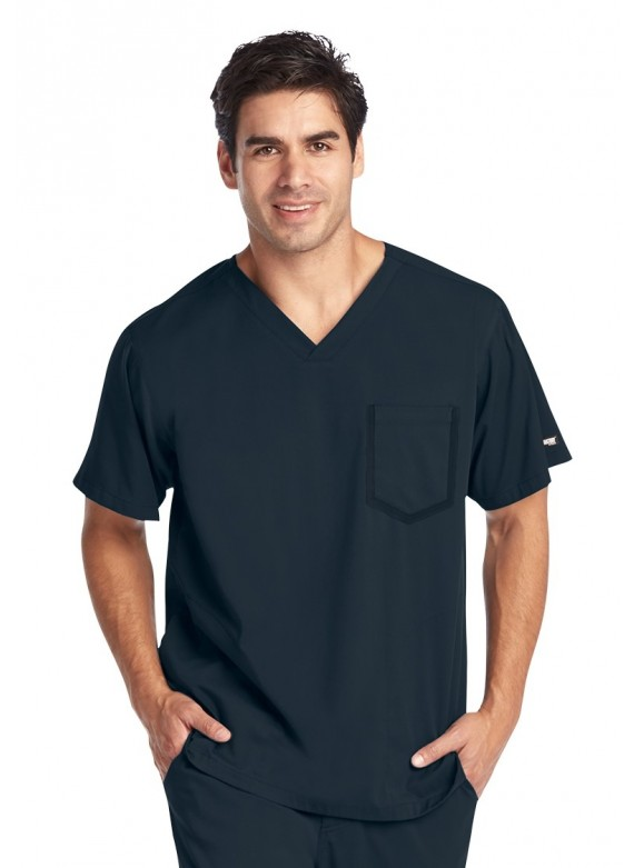 Grey's Anatomy Impact Men's V-Neck Scrub Top - 0118