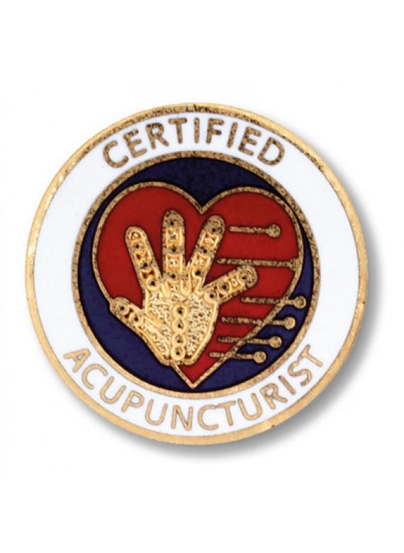 Prestige Certified Acupuncturist Pin - 1014