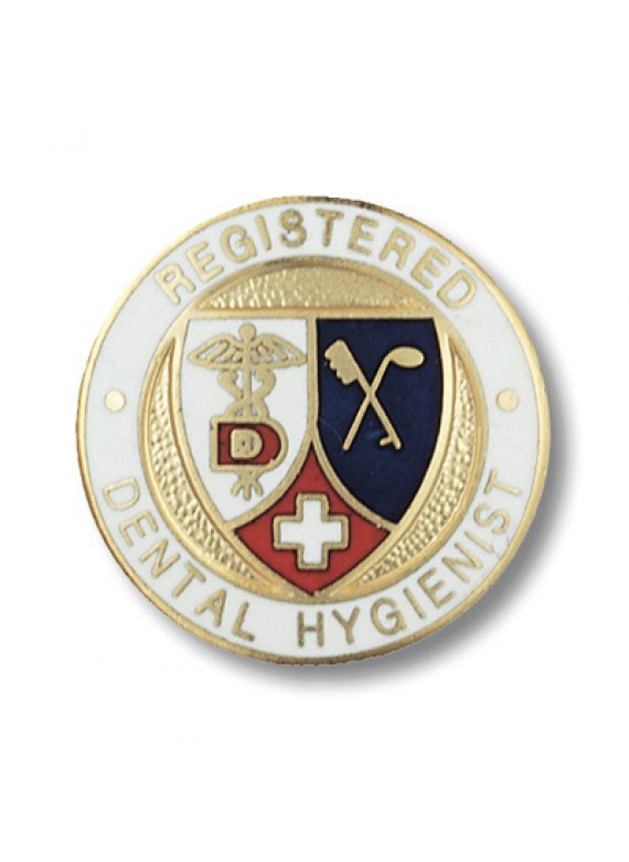 Prestige Registered Dental Hygienist Pin -1089