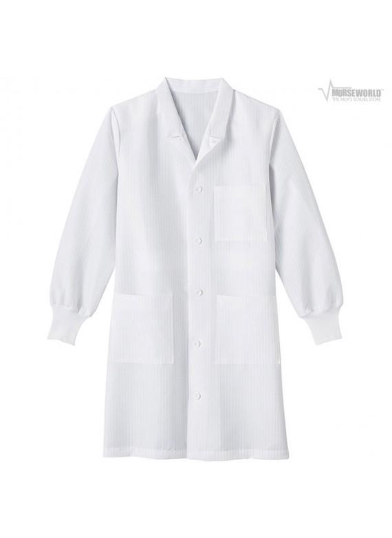 """META Labwear Unisex 40"""" Fluid Resistant Anti-Static Labcoat - 11653"""
