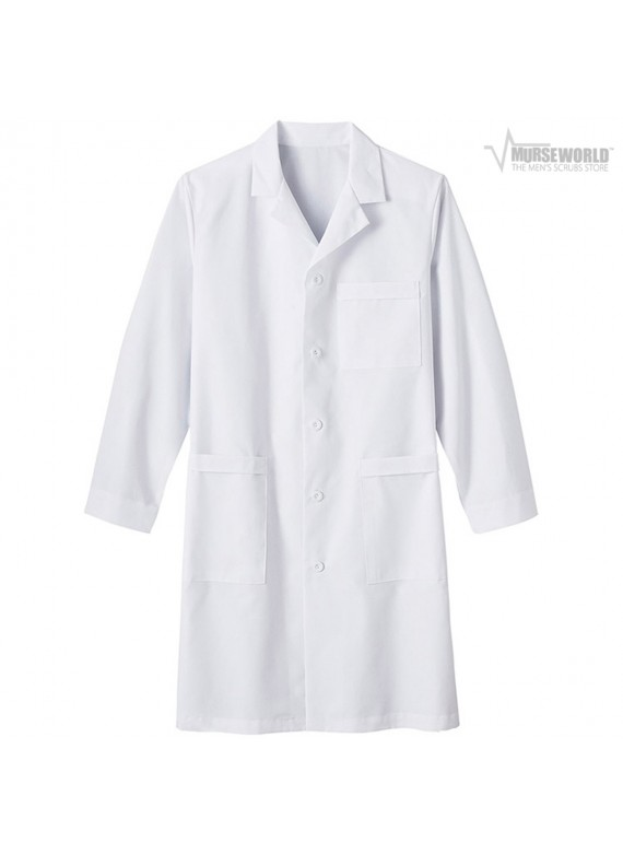 "META Labwear Men's 40"" Nano-Care Labcoat - 17020"