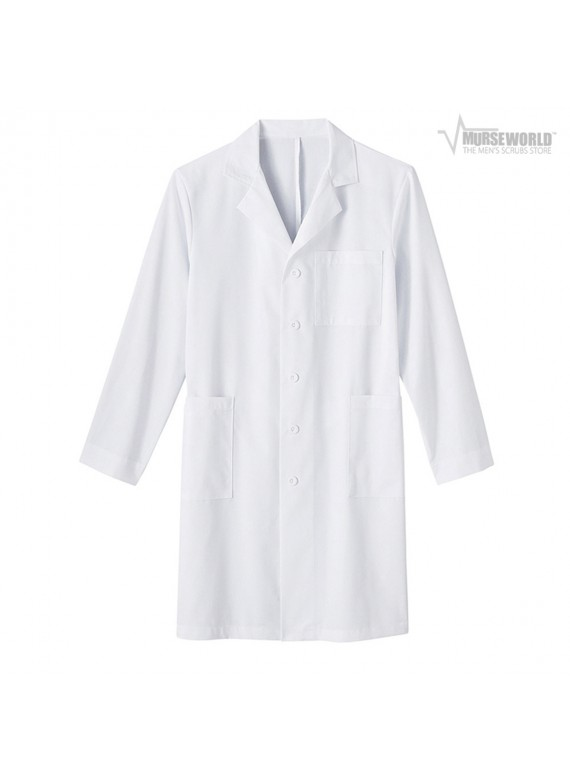 "META Labwear Men's 40"" 5 Pocket Labcoat - 267"
