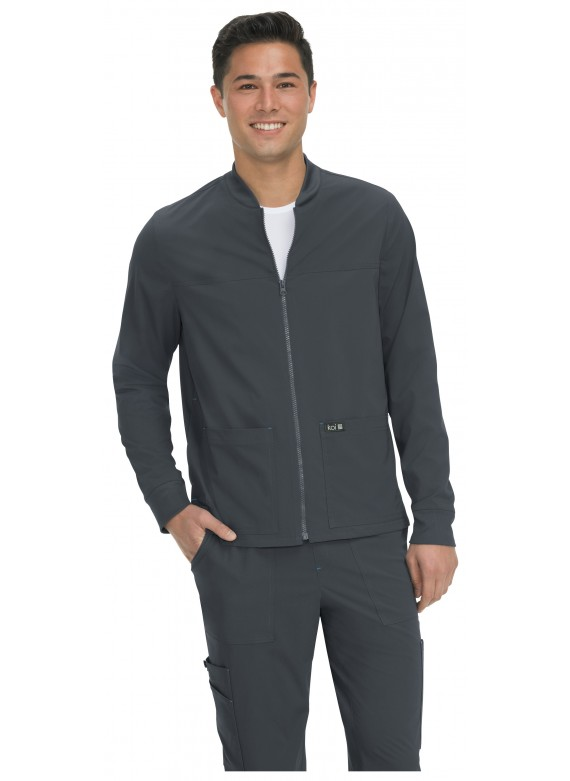 Koi Basics Unisex Hayden Zip Up Scrub Jacket - 448