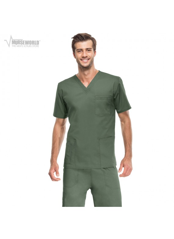 Cherokee Workwear Stretch Unisex V-Neck/Cargo Scrub Set - 4725/4043
