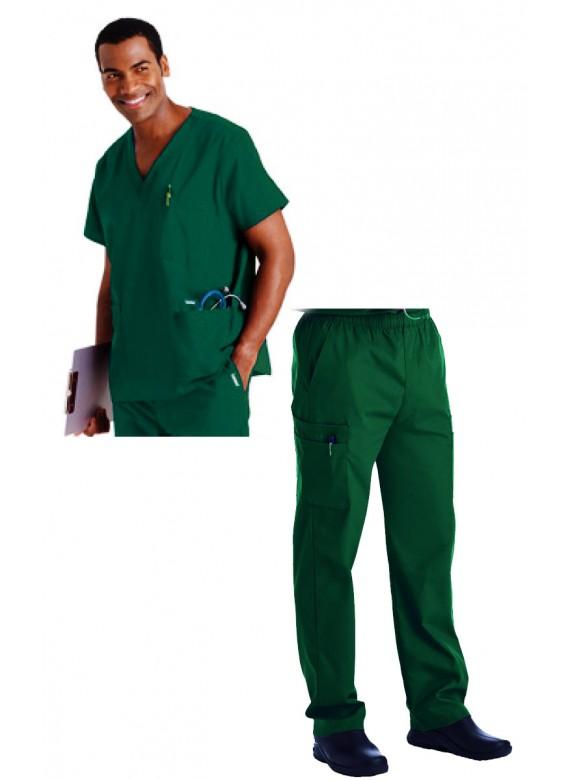 Landau 5-Pocket Men's Scrub Set - 7489/8555