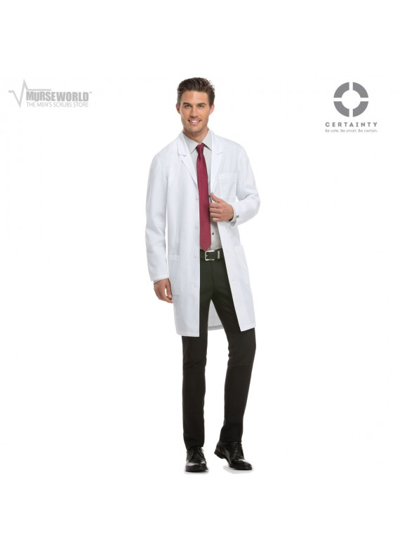 "Dickies 40"" Unisex Antimicrobial Lab Coat - 83403A"