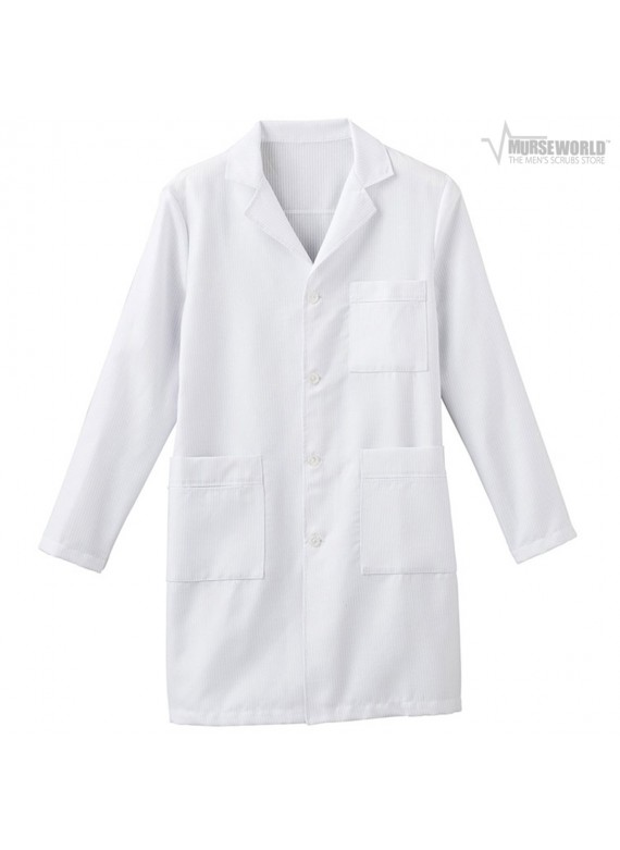 "META Labwear Men's 38"" Antimicrobial X-Static Labcoat - 862"
