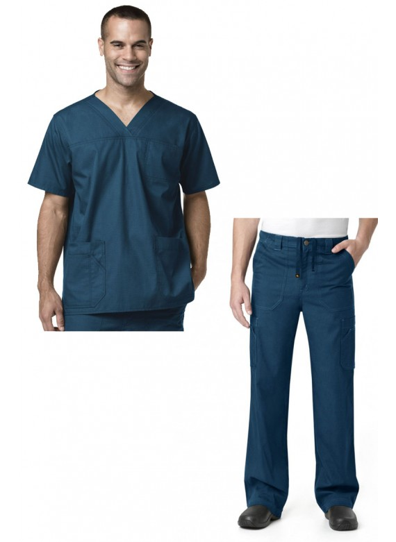 Carhartt C15208/C54108 Men's Ripstop 3-Pocket Scrub Set