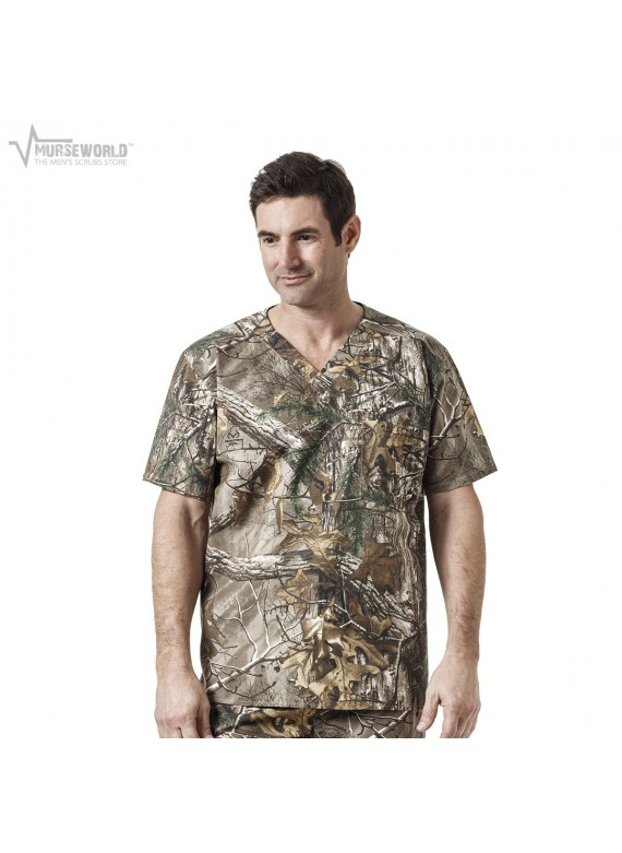Carhartt Men's Realtree Camouflage Print Top - C15405 RTX