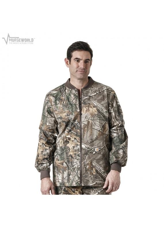 Carhartt Men's Zip Front Realtree Camouflage Print Jacket - C85405 RTX