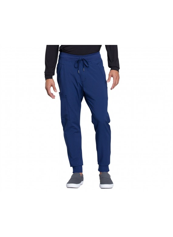 Cherokee Infinity Men's Jogger Scrub Pants with Drawstring - CK004