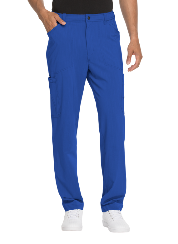 Dickies Advance Men's Solid Tonal Twist Stretch Scrub Pants - DK205
