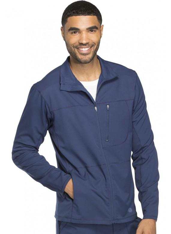 Dickies Dynamix Men's Front Zip Multi Pocket Warm Up Scrub Jacket- DK310
