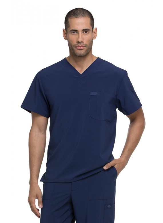 Dickies EDS Essentials Men's V-Neck Scrub Top - DK635