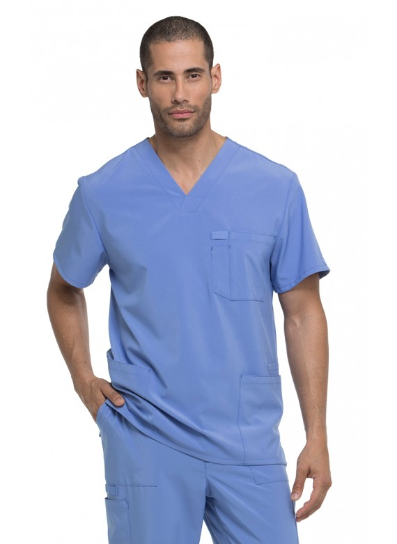 Dickies EDS Essentials Men's V-Neck Scrub Top - DK645