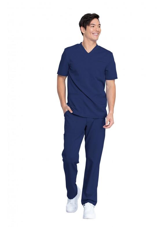 Dickies Balance Men's Multi Pocket Athletic Straight Leg Men's Scrub Set – DK845/DK220