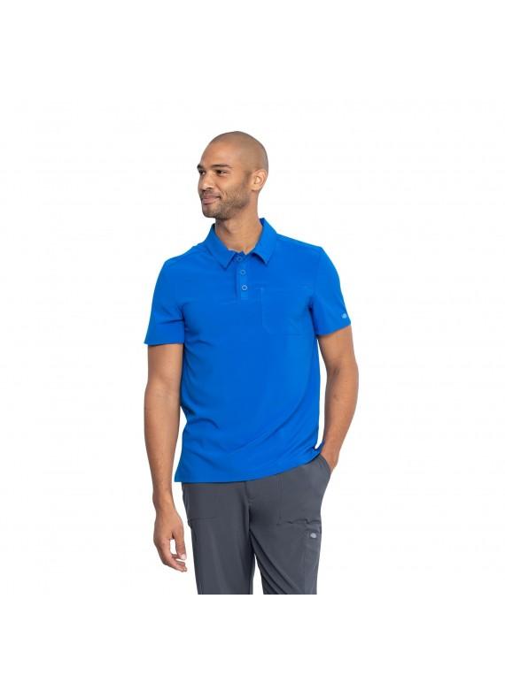 Dickies EDS Essentials Men's Polo Collared Scrub Top Shirt - DK925