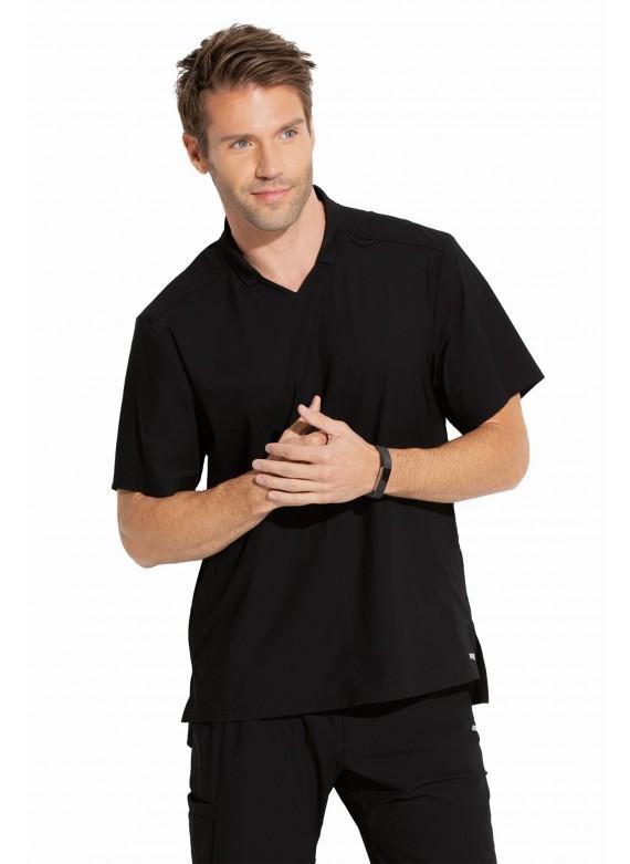Grey's Anatomy Edge Men's Evolution V-Neck Polo Scrub Top - GET009