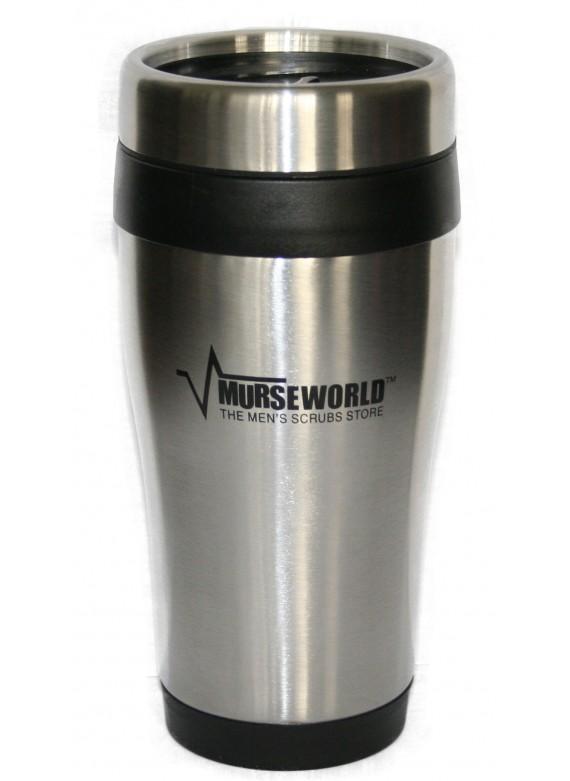 Murse World Stainless Steel Travel Mug - 16 oz.