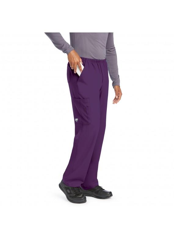 Skechers Men's Structure Cargo 4 Pocket Full Elastic Scrub Pants- SK0215
