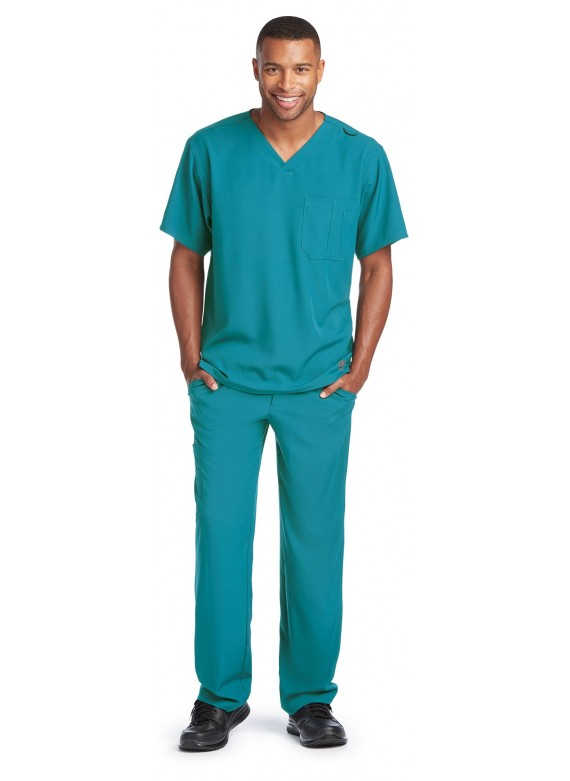Skechers by Barco Men's Structure 5 Pocket Scrub Set- SK0112/SK0215