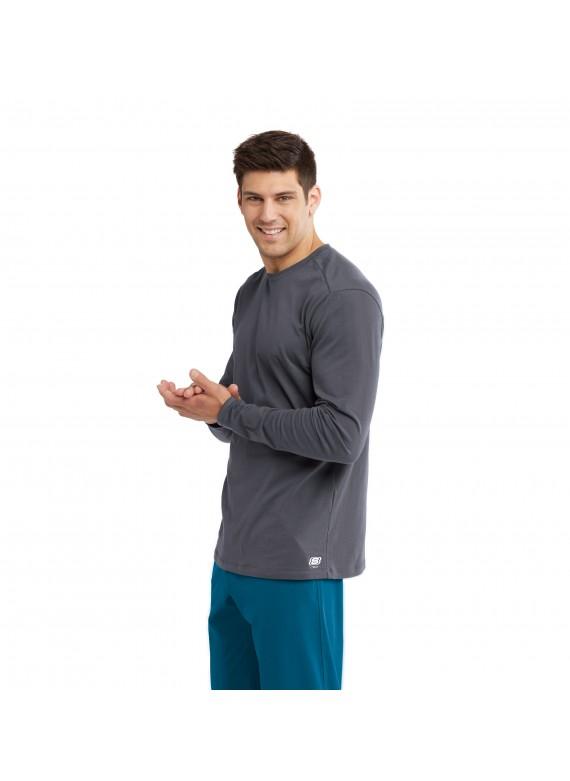 Skechers by Barco Men's Crew Neck Long Sleeve True Tee Underscrub- SKK002