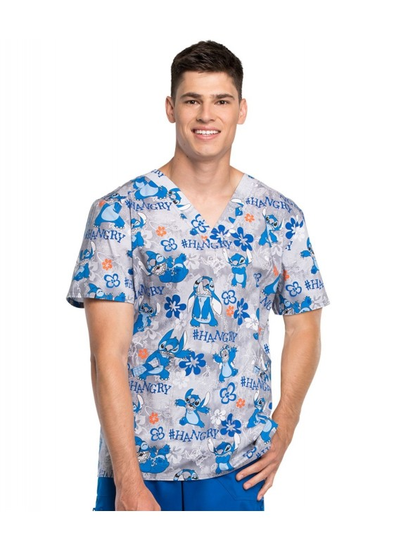 Men's Disney Scrub Top - TF663