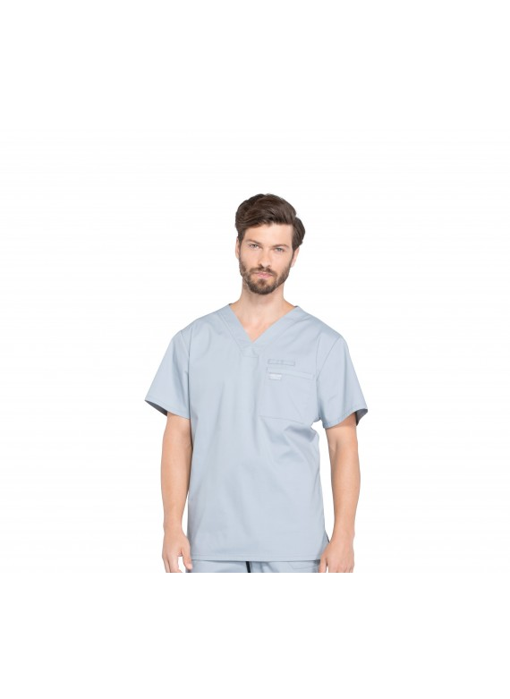 Cherokee Workwear Professionals Men's Scrub Top With Pockets - WW675