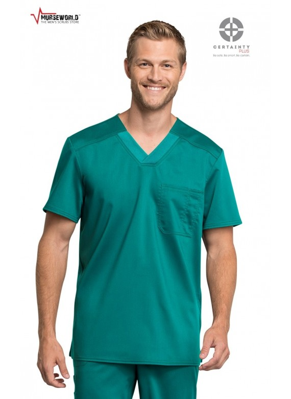 Cherokee Workwear Revolution Tech Men's V-Neck Scrub Top - WW755AB