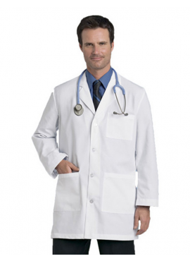 Landau Men's Lab Coat - 3166