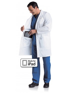 Landau Men's iPad Lab Coat - 3174
