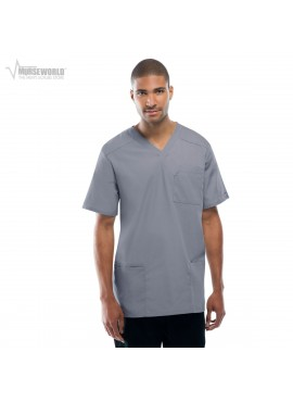 Cherokee Workwear Tall V-Neck Solid Top - 4701 DISCONTINUED TOP