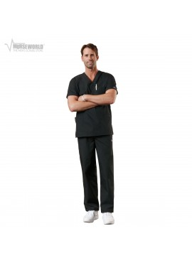 Cherokee Workwear 3-Pocket Top with Men's Cargo Pant Scrub Set 4876/4000