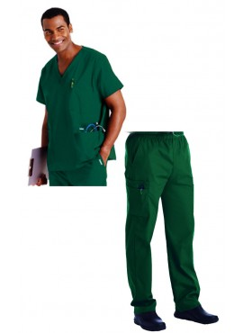 Landau 5-Pocket Men's Scrub Set - 7489/8555