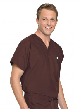 Landau Reversible V-Neck Scrub Top - 7502