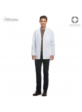 "Dickies Men's 31"" Consultation Antimicrobial Lab Coat - 81404A"