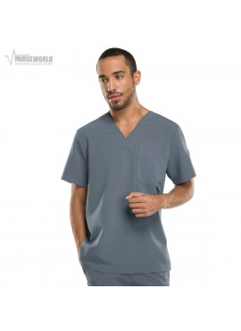 Dickies Xtreme Stretch Men's V-Neck Scrub Top - 81910