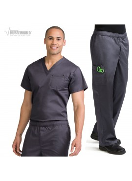 Med Couture Men's MC2 Tuck In Top Scrub Set - 8486/8702