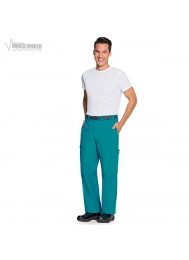 Code Happy Men's Antimicrobial Belted Cargo Pant - CH205A