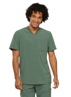Cherokee Infinity Men's Athletic One Pocket Scrub Top with Certainty- CK910A