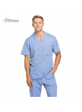 Dickies Men's Dynamix Stretch Scrub Top - DK610