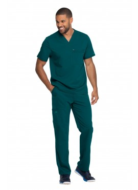 Dickies Balance Men's Multi Pocket Cargo Straight Leg Scrub Set- DK865/DK220